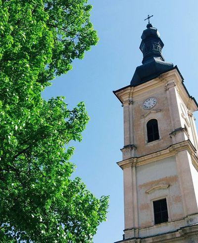 Cluj-Napoca Spring Perfect Sky Blue Sky Church