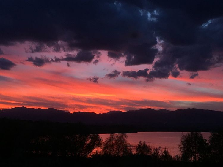 No Filter Sunset Colorado Fall Sunset Colorful Colorado I ❤️ me a beautiful sunset. Eye4photography