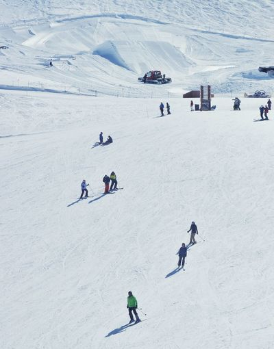 Skiing Snow Snowboarding Winter Snowcapped Mountain Winter Wonderland