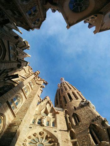Barcelona Church Towers Sagrada Familia The Architect - 2017 EyeEm Awards