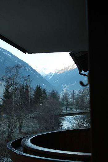 Tal Gletscher Mountains