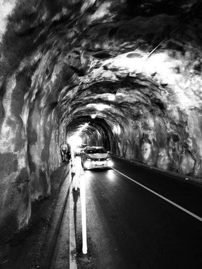 Black Tunnel Diamond Head Transportation Road The Way Forward Car Land Vehicle Tunnel Mode Of Transport