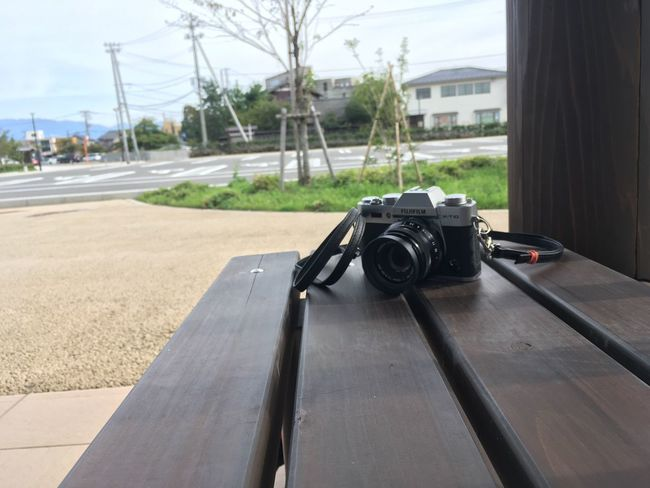 Fujifilm Camera at the Parking Waiting for Myfriend Shibata City Japan IPhoneography Nobody No Edit/no Filter No Cars  The Scenery That Tom Saw Tomの見た世界