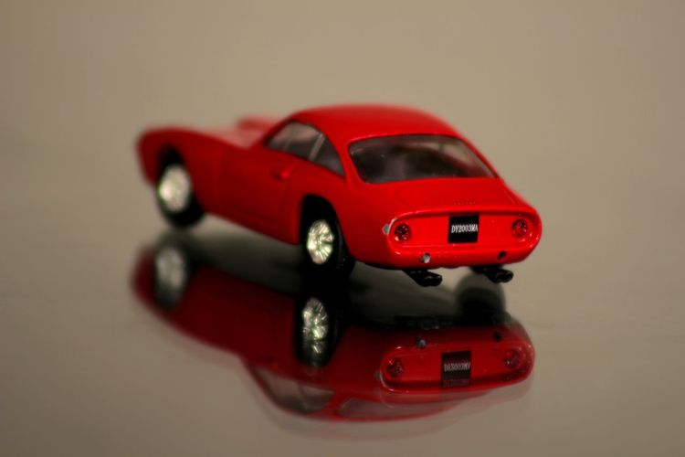 Car Childhood Close-up Day Ferrari 250 GT/E No People Racecar Red Reflection Studio Shot Toy Toy Car