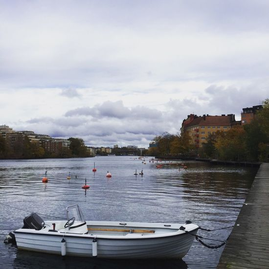 Gröndal Harbour Autumn Empty Beautiful From My Point Of View Autumn Colors Boat Nature On Your Doorstep Water_collection