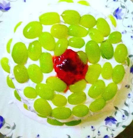 HappyBirthday Fatherinlaw Homemadecake GreenGrapes Funfilled Gratitude