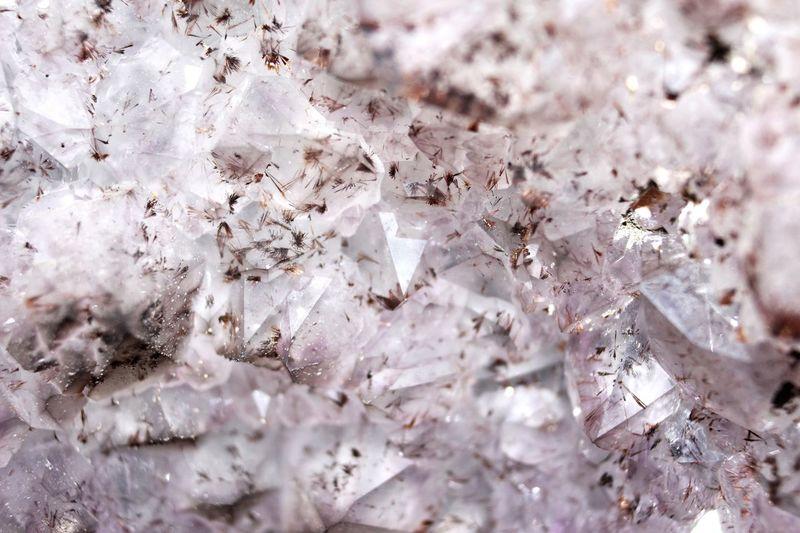 Full frame shot of crystals