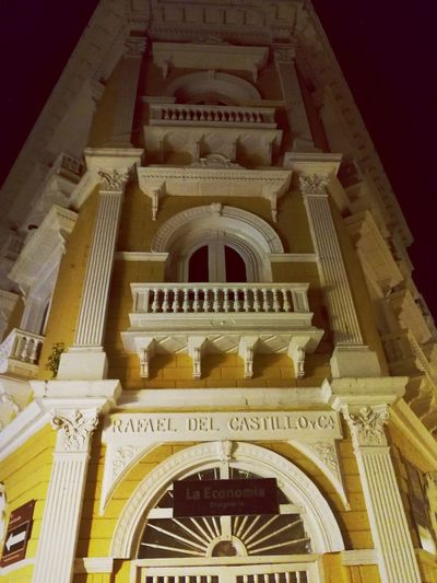 Antigua, Cartegena, Colombia Architecture Night Building Exterior Built Structure City History Low Angle View First Eyeem Photo