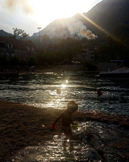 Morinj Boka Kotorska Adriatic Coast Adriaticsea Sunset #sun #clouds #skylovers #sky #nature #beautifulinnature #naturalbeauty #photography #landscape