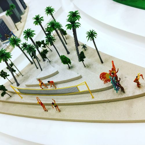 Brasil miniature Brasil ♥ Copacabana Brasil Miniatura Samba Volleyball Miniature Taking Photos Iphone6s Salon De La Photo