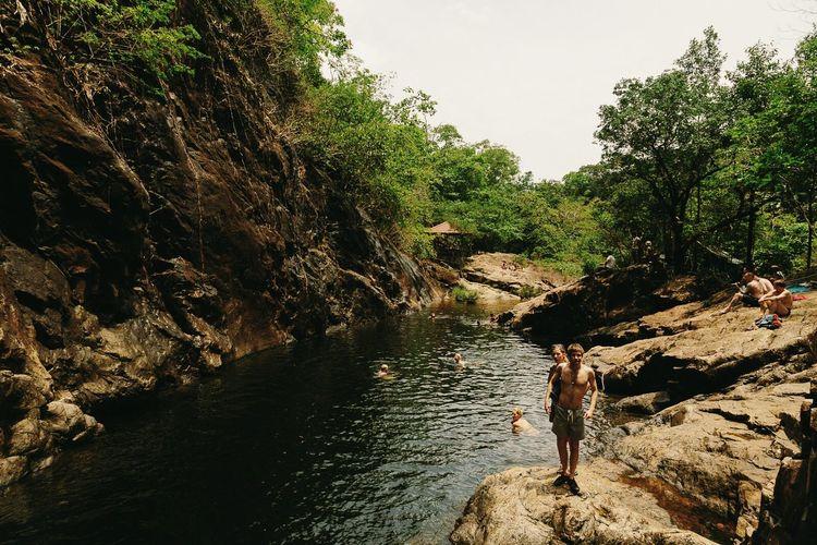 hi there Khlong Phlu Waterfall EyeEm Best Shots The Explorer - 2014 EyeEm Awards