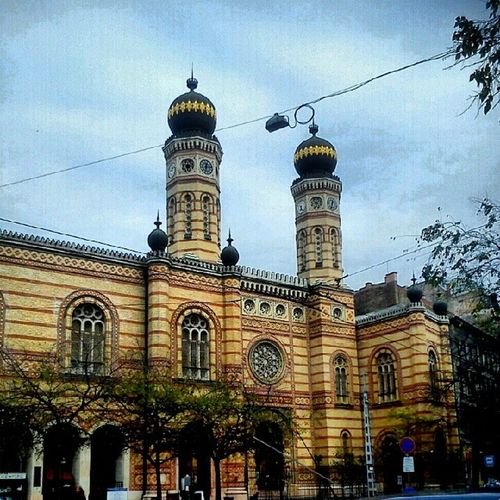 Sightseeing Budapest Synagogue