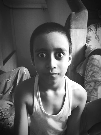 Intensified look Looking At Camera Portrait Child Headshot Close-up One Person The Week On EyeEem The Photojournalist - 2017 EyeEm Awards Portraits Of EyeEm Eyeem Photography BYOPaper! EyeEmBestPics EyeEm Best Shots Eyeemphotography Mobilephotography Redmi2Prime Place Of Heart