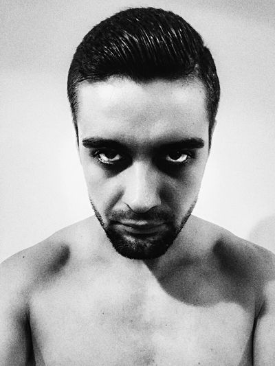 Black Blackandwhite Innerdemon Portrait Straightlook First Eyeem Photo