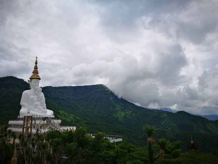 Buddhist Temple Thai Temple Nature Mountains Temple