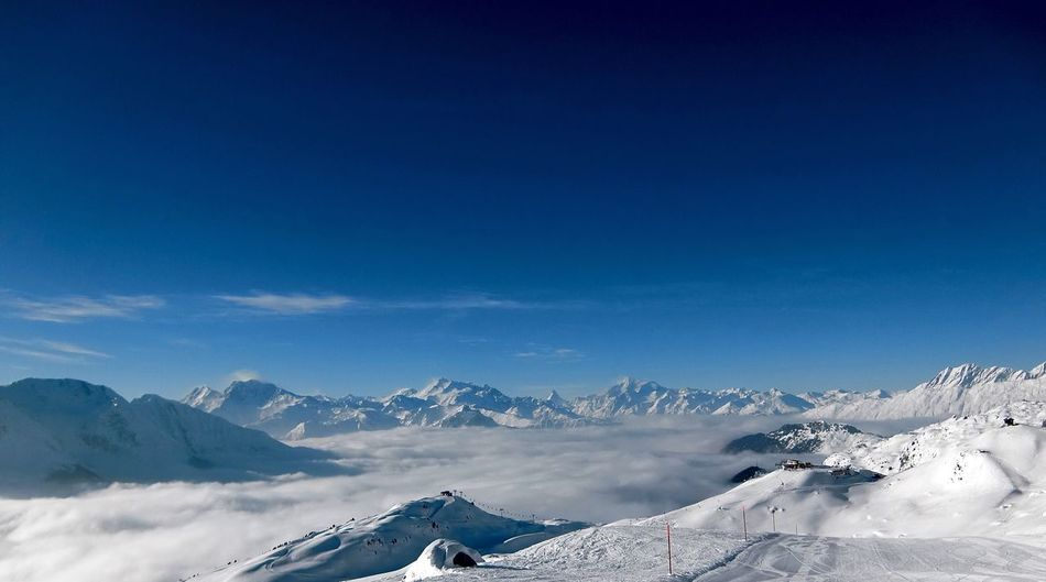 Bettmeralp Aletschgletscher Aletsch Clouds And Sky Snow Winter Mountain Nature Snowcapped Mountain Scenics Blue Beauty In Nature Tranquil Scene Cold Temperature White Color Outdoors Mountain Range Frozen Landscape