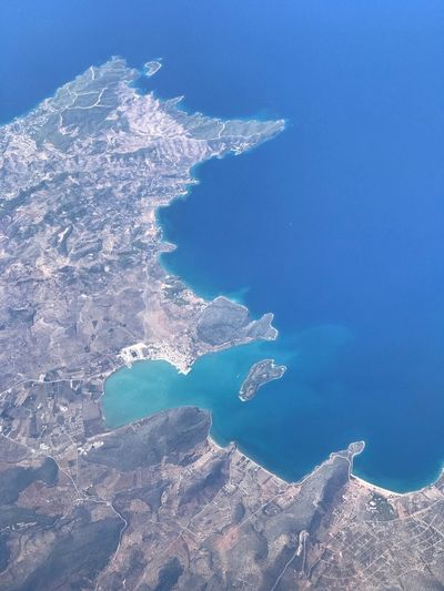 Water Sea Nature No People Blue Beauty In Nature Aerial View