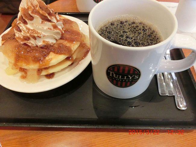Pancake Time Coffee Time Tully's