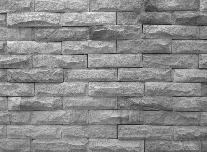 Wall gray block