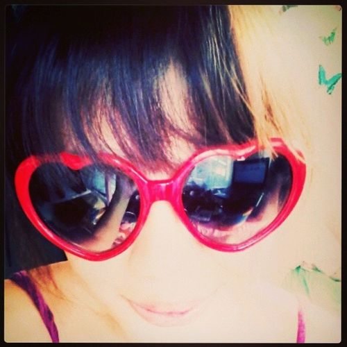 Here's my Heart from me to you Sunnies from DressLink