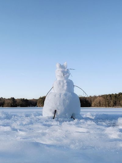 snowman on a