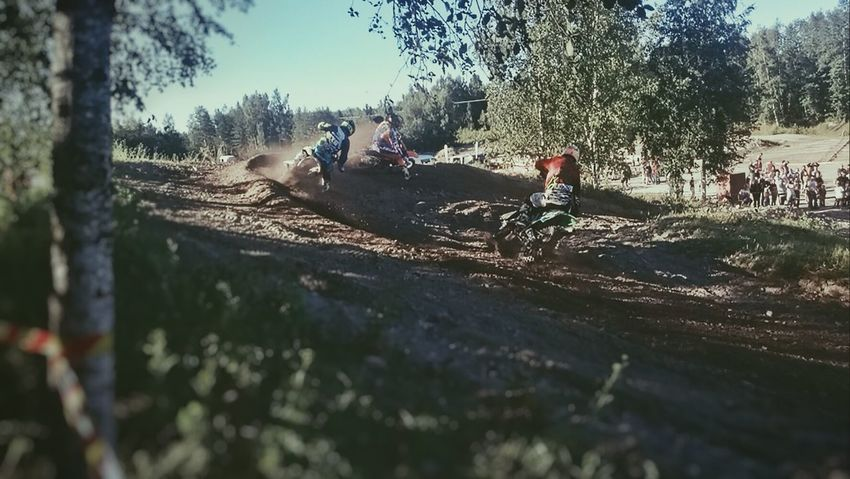 Motocross Finland Moto Summer Glorydays Dirt Racetrack Spitu