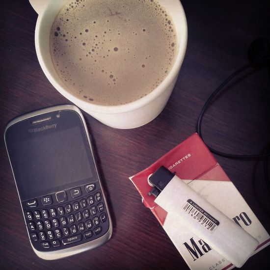 Coffee And Cigarettes Daily Routine Relaxing