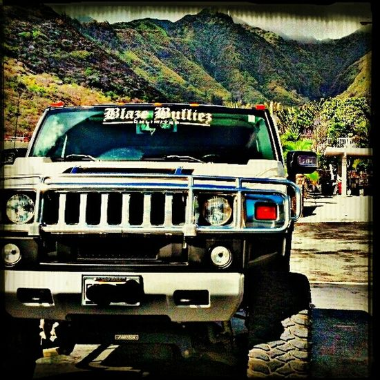 my ride, in hawaii in some valley at work upgrading an electrical meter Hawaii Oahu Hummer Electrician  Hummer H2 Lifted Hummer Hawaiikai Work