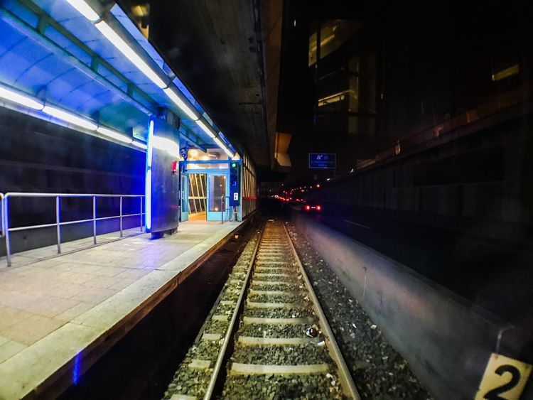 Metro. Station Metro Photography