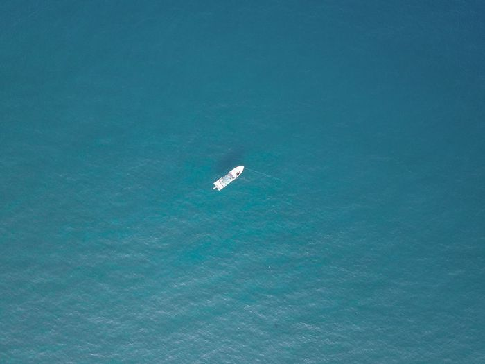 drone with boat in dubai Dubai Aerial View Beauty In Nature Day Nature Nautical Vessel No People Outdoors Scenics Sea Water