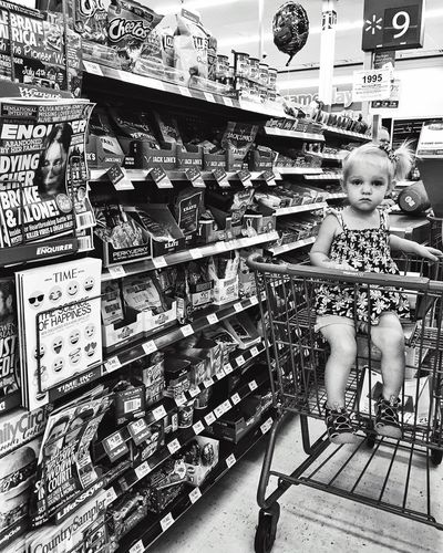 USA USA Photos Michigan Walmart Petoskey Harborsprings Love Baby Littlegirl Shopping IPhone IPhoneography Iphonephotography Iphoneonly Life Traveling Enjoying Life Blackandwhite Black & White People And Places