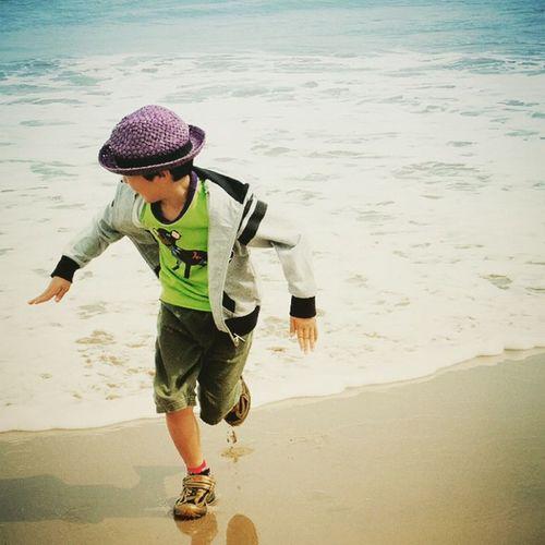 Sea Beach Child Nephew  海 甥っ子
