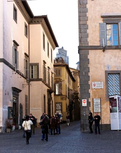 Orvieto, Italy Travel Travel Photography Traveling Architecture Building Exterior Built Structure City Day Italian Italy Men Orvieto Outdoors People Real People Travel Destinations Walking Women