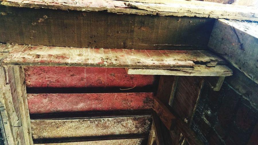 Full frame shot of old wood