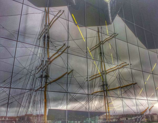 Reflection Tall Ship