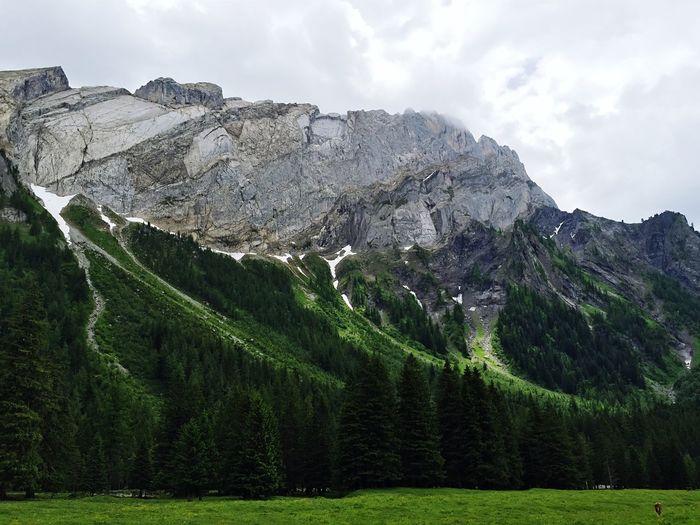 Vue depuis le refuge de Solalex, Switzerland