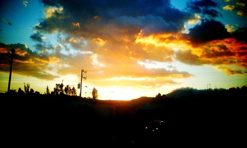 Un bello atardecer en Ruiseñores. Tala Jalisco Guadalajara Jalisco Atardecer Sky Cielo