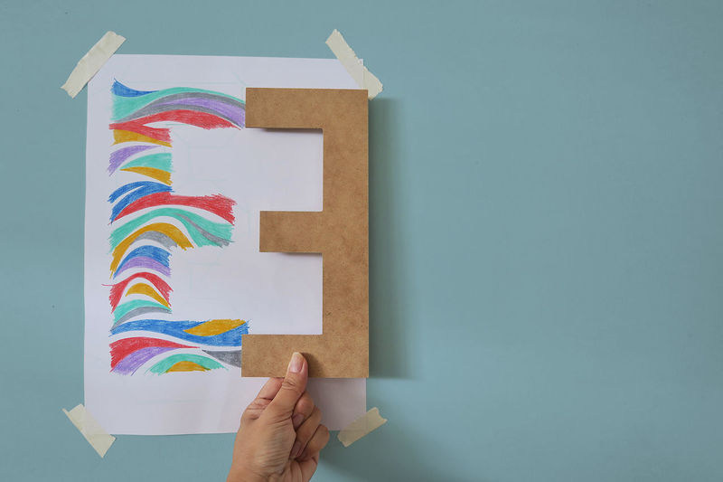 Art Art And Craft Craft Creativity E Easter Ready Element Hand Holding Learn & Shoot: Balancing Elements Letter E Pastel Pastel Colors Handmade For You