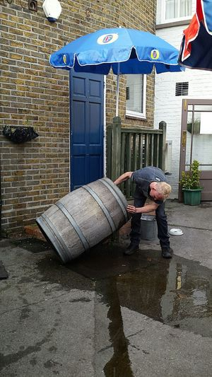 Beer barrel xxxxxxx Nefilian Xxxxxxx Beerbarrel Rainwater Emptying Heaveywork Pubs Beergarden  Funny X