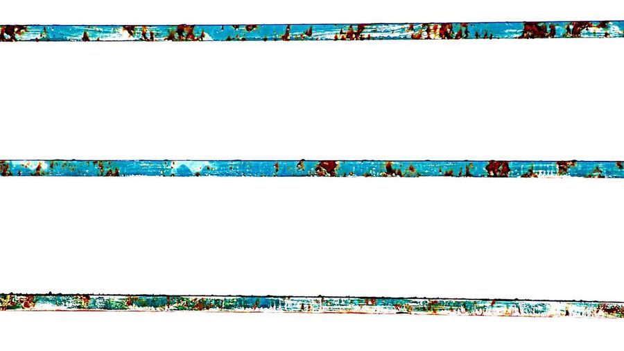 Rusty Railing Arts Culture And Entertainment Copy Space Backgrounds Pattern Multi Colored Painted Image Television Industry No People Rusty Railing Background White Coulors Of Life Streetphotography Art Street Art Break The Mold Break The Mold