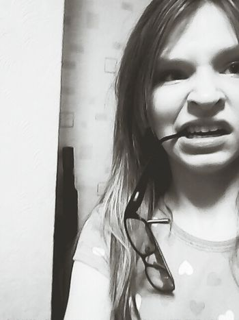 wierd me:) Wierdoozzz❤ Glasses Blackandwhite Follow4follow