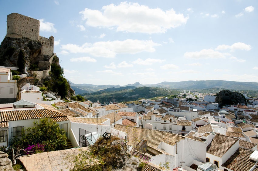 Olvera Village Castle SPAIN City España Olvera Town Village