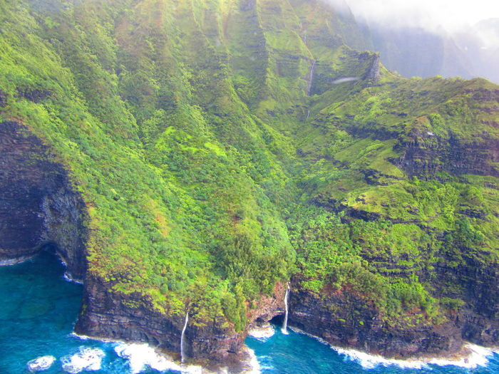 Hawaii Kauai Tropical Paradise Jurassic Pak Napali Coast Water Waterfalls An Eye For Travel