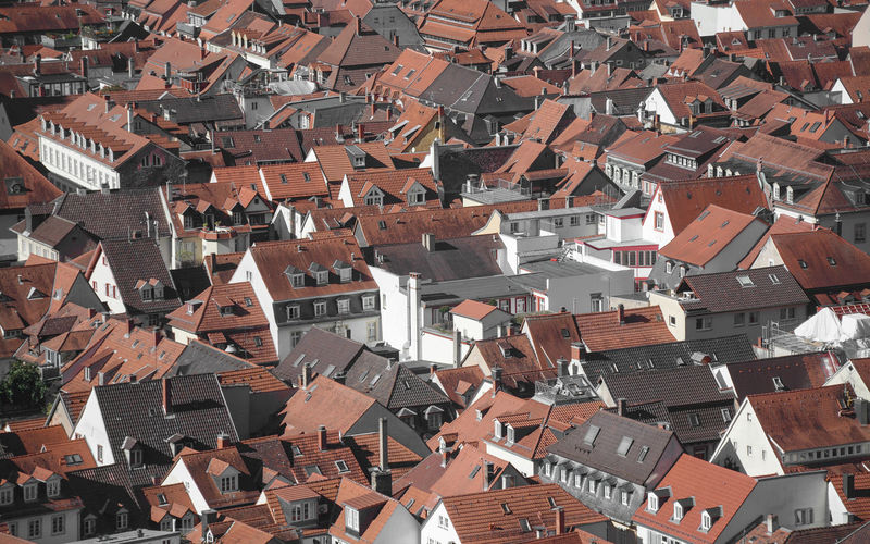 All that red roofs! Architecture Building Exterior Roof Built Structure Residential District Building City House Town Roof Tile TOWNSCAPE Outdoors Cityscape Community Village Life Village Redroof Deutschland Germantown Tiled Roof  Zigzag Popular Music Concert Crowded Houses