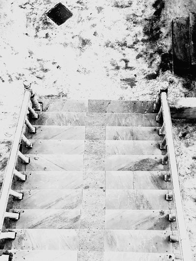 marble staircase Blackandwhite Staircase Backgrounds Full Frame Pattern Textured  Abstract Close-up