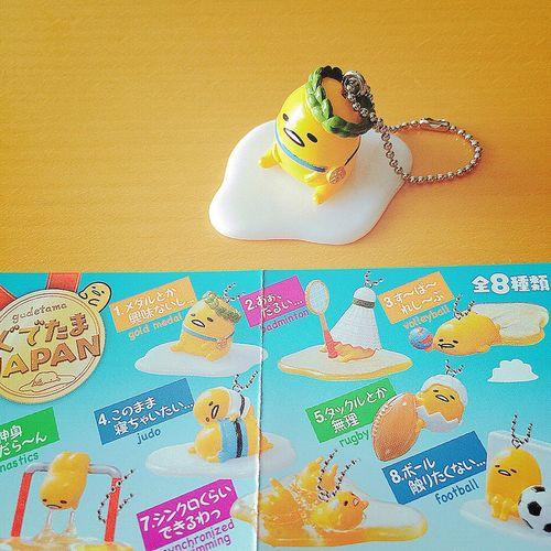 ぐでたまJAPAN ありがとう日本🇯🇵 おつかれさまブラジル・リオ🇧🇷 2020はトーキョー…ニッポンで、お待ちしております🇯🇵🏅 オリンピック ブラジル 日本 リオデジャネイロ リオ ぐでたまJAPAN ぐでたま サンリオ Sanrio リーメント Rement