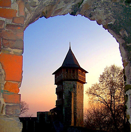 Arch Architecture Belief Building Building Exterior Built Structure Clear Sky History Low Angle View Nature No People Outdoors Place Of Worship Religion Sky Spire  Spirituality Sunset The Past Tower Tree