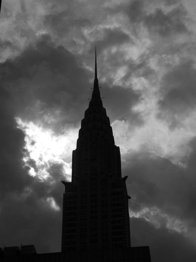 The Chrysler BLDG NYC Chrysler Building Architecture Building Building Exterior Built Structure Cloud - Sky Low Angle View Nature No People Office Building Exterior Sky Skyscraper Spire  Tower Travel Destinations
