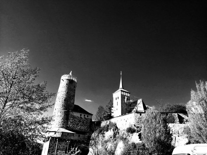 Blackandwhite Black & White Turm Unforgettable ♥ Unforgettable Moment Place Of Worship Religion Spirituality History Sky Architecture Building Exterior Built Structure