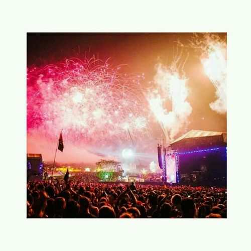What Does Music Look Like To You? Colourful Bestival Fireworks
